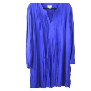 SZ XXL Blue Long Dress